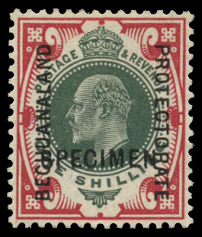 BECHUANALAND 1904  SG71 var Specimen