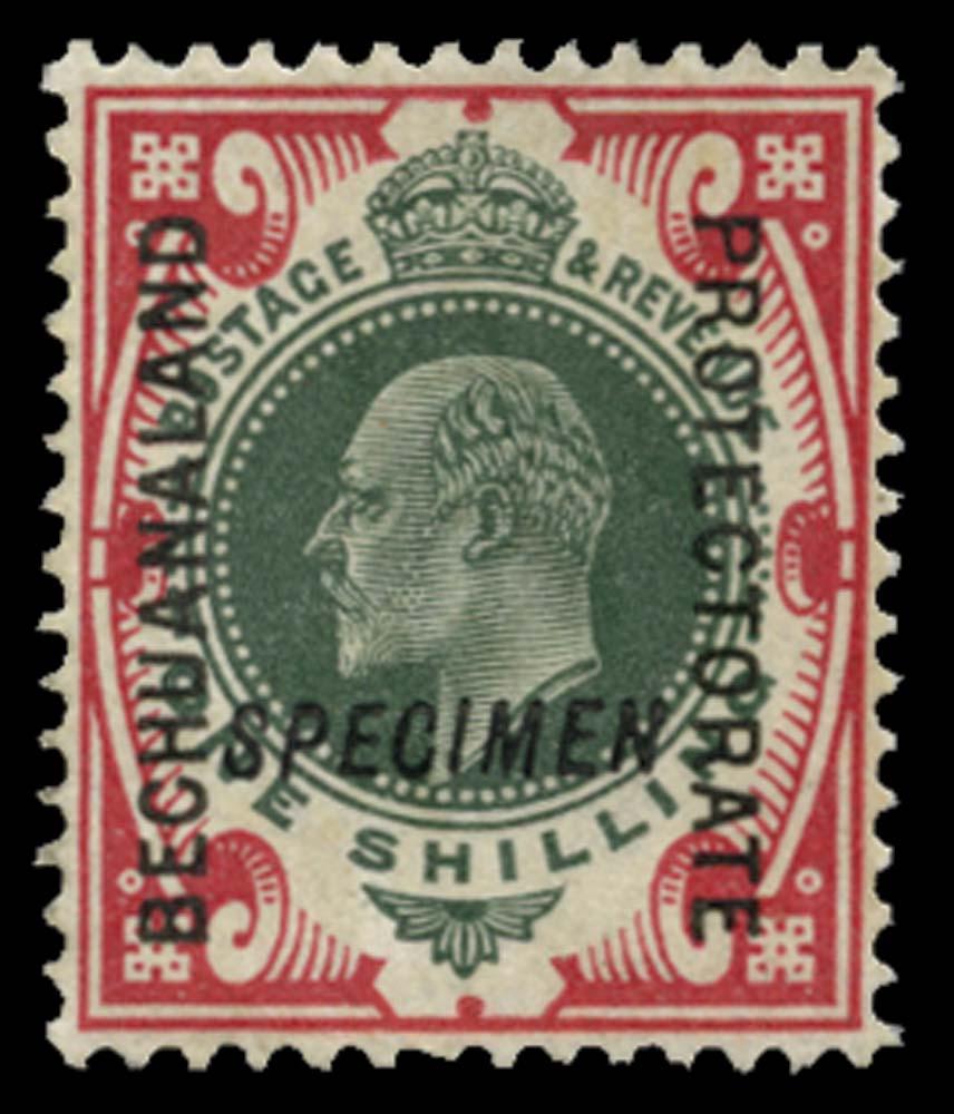 BECHUANALAND 1904  SG71s Specimen