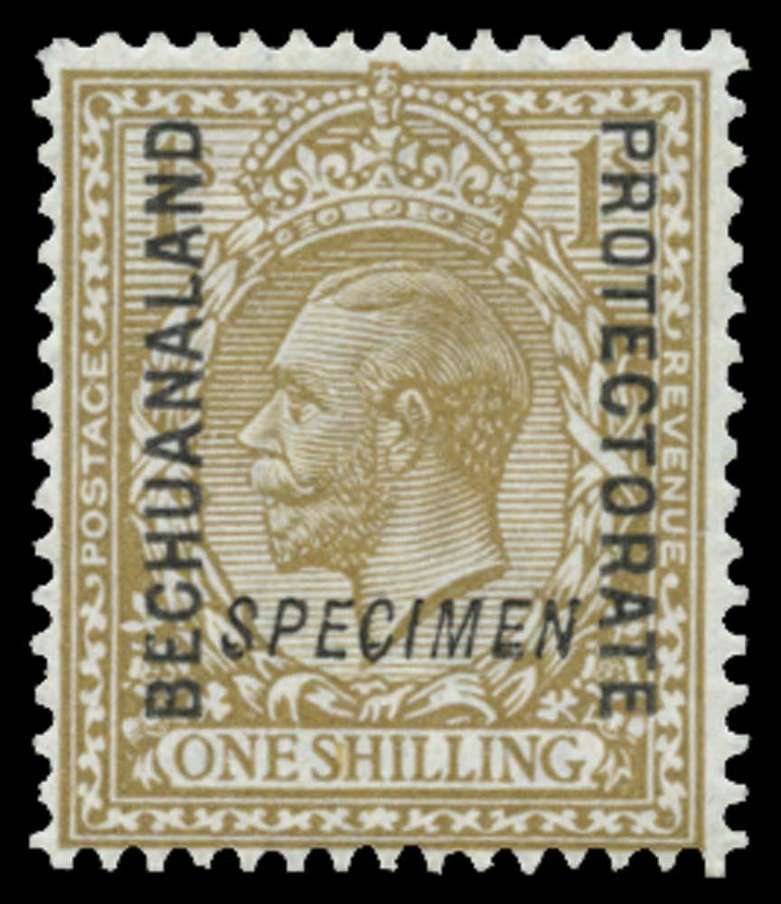 BECHUANALAND 1913  SG82s Specimen