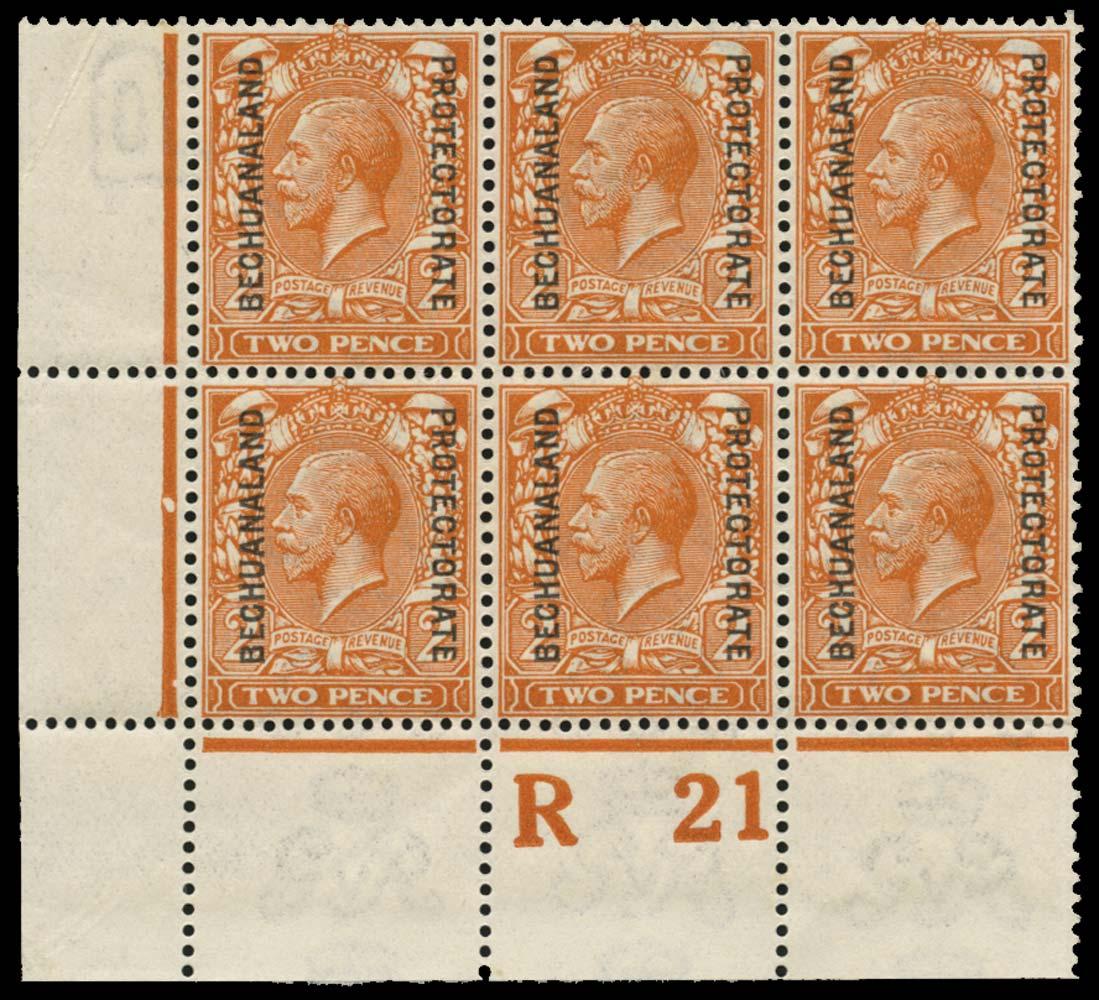 BECHUANALAND 1913  SG76a Mint