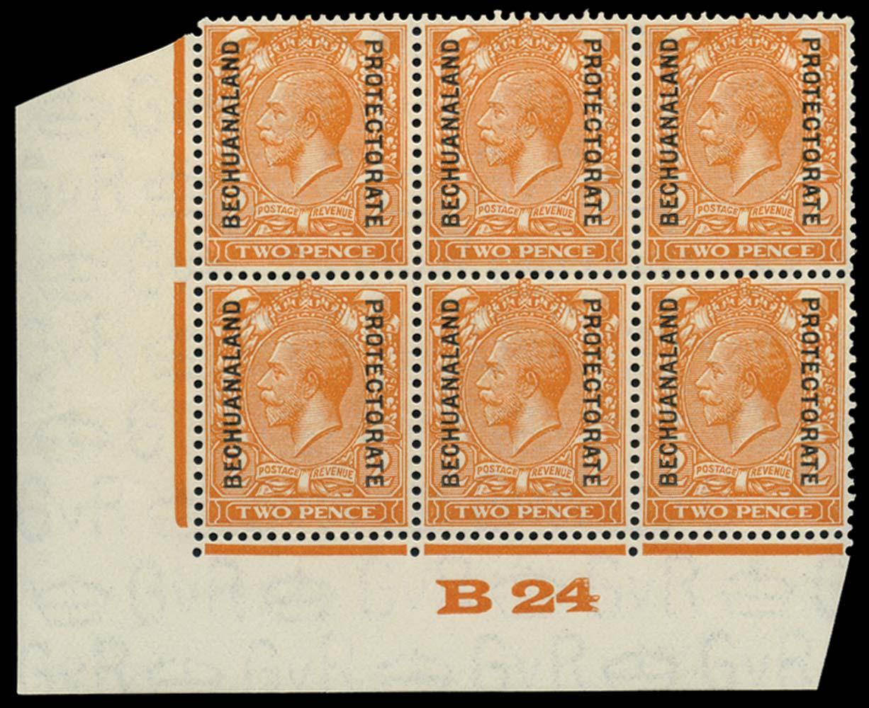 BECHUANALAND 1925  SG93 Mint