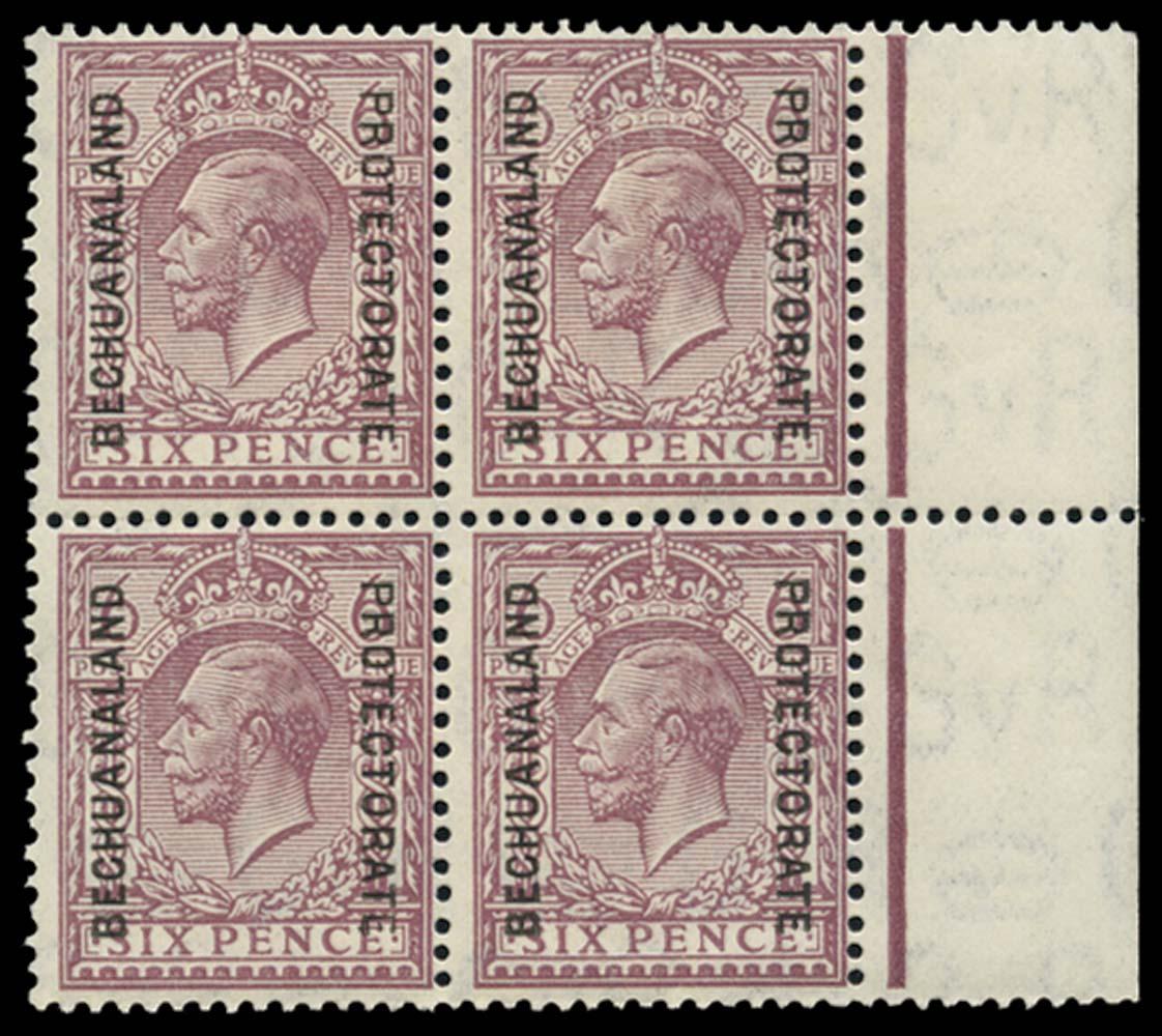 BECHUANALAND 1925  SG97 Mint