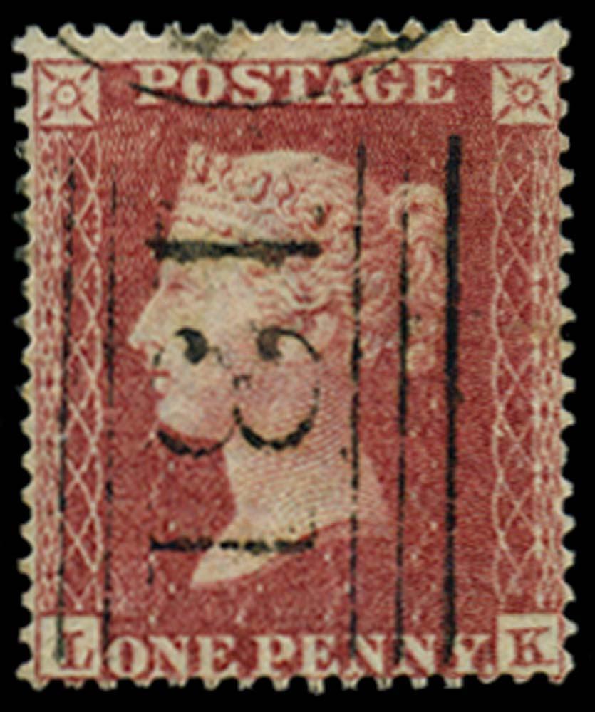 GB 1857  SG36 Pl.44 Used