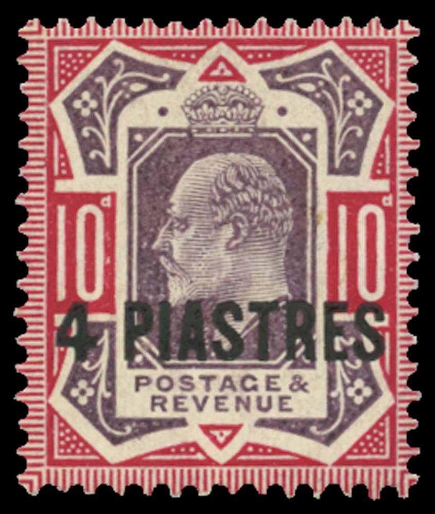BRITISH LEVANT 1902  SG10ba Mint