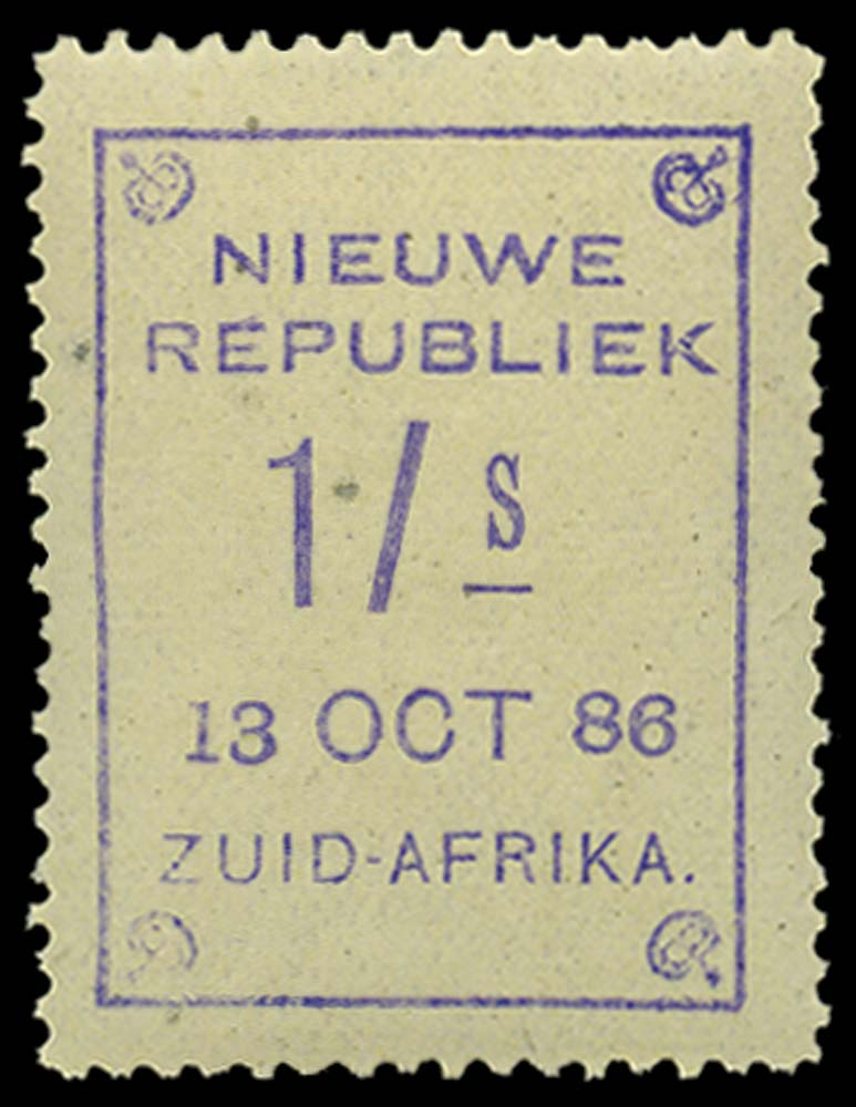 NEW REPUBLIC 1886-87  SG9 Mint