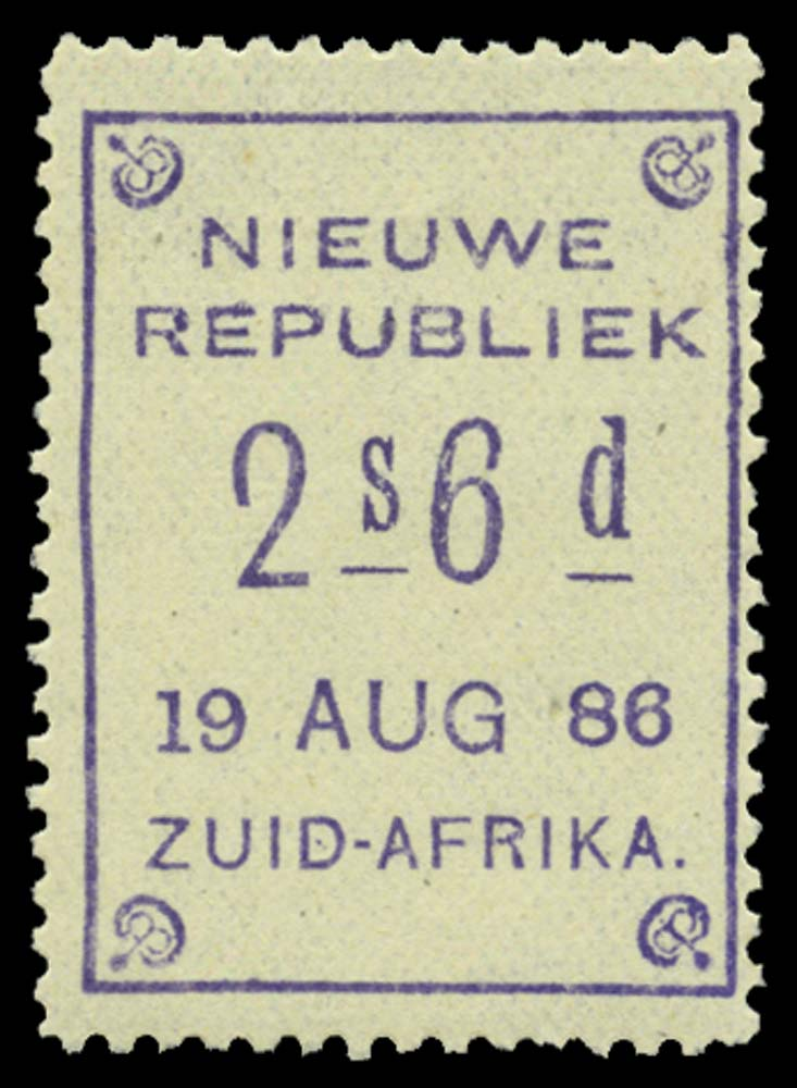 NEW REPUBLIC 1886-87  SG14 Mint