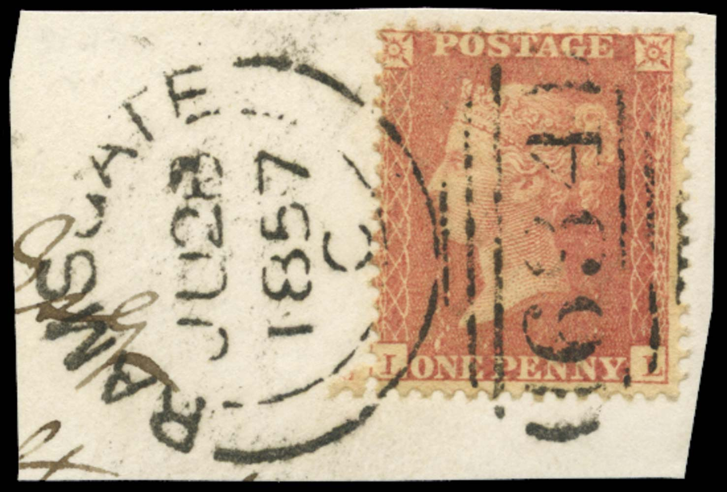 GB 1857  SG38var Pl.47 Used