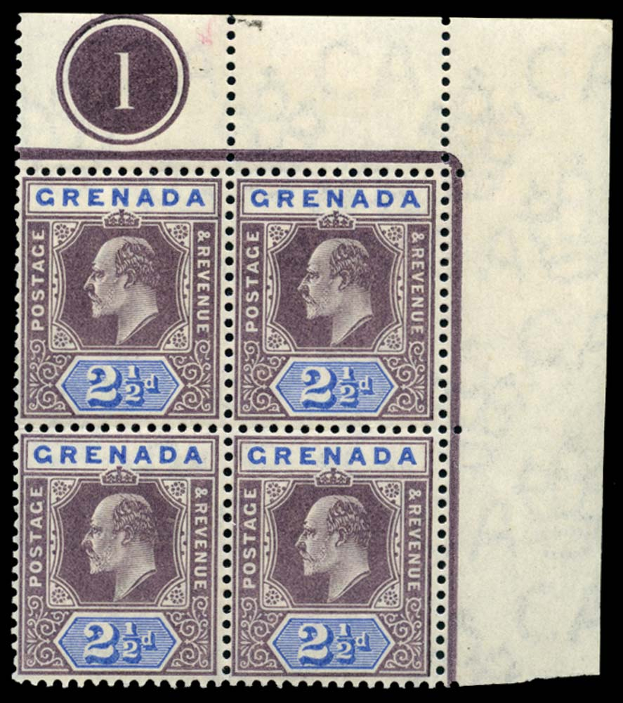 GRENADA 1904-6  SG70 Mint