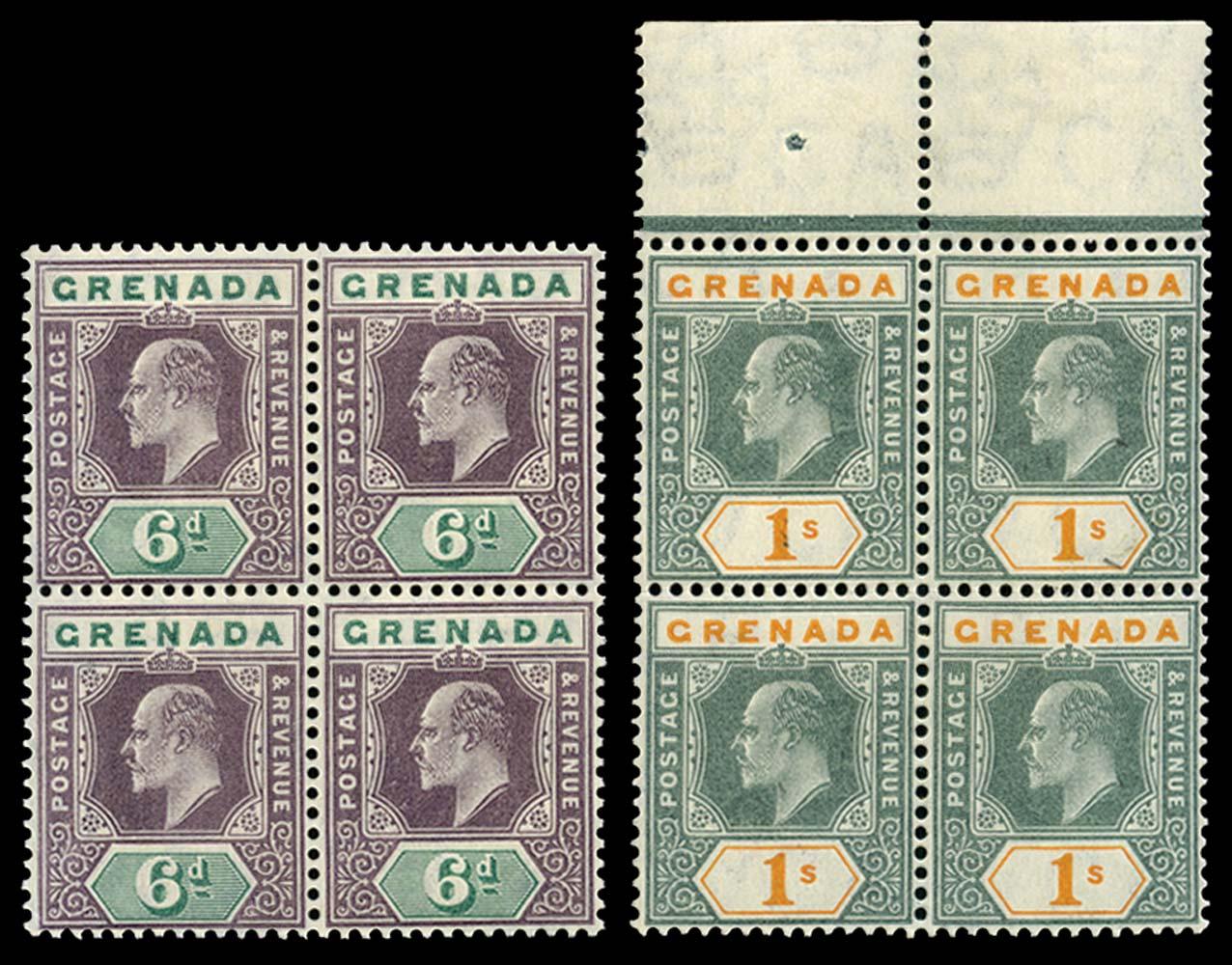 GRENADA 1904-06  SG72/3 Mint