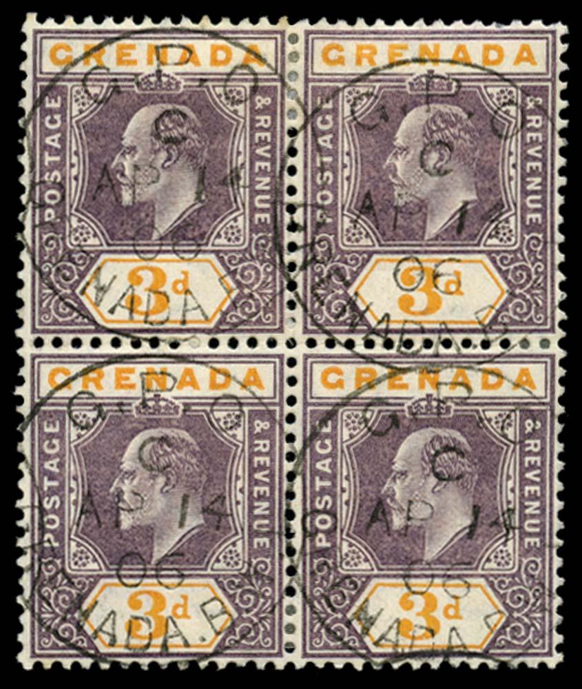 GRENADA 1904-6  SG71 Used
