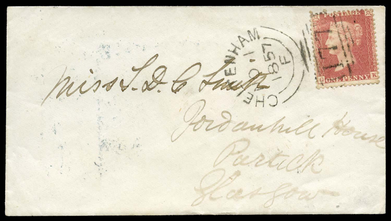 GB 1857  SG38 Pl.47 Cover