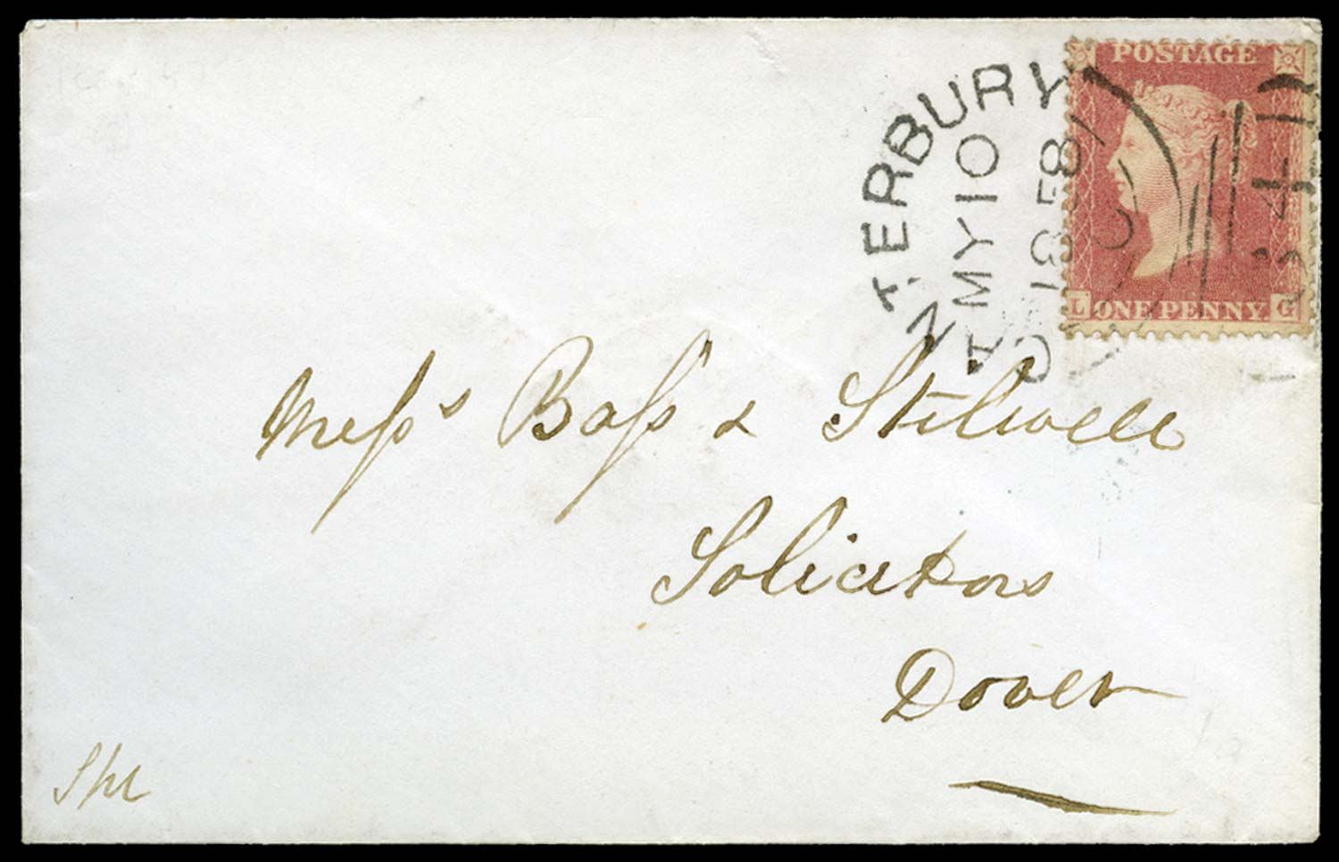 GB 1857  SG38 Pl.47 Cover