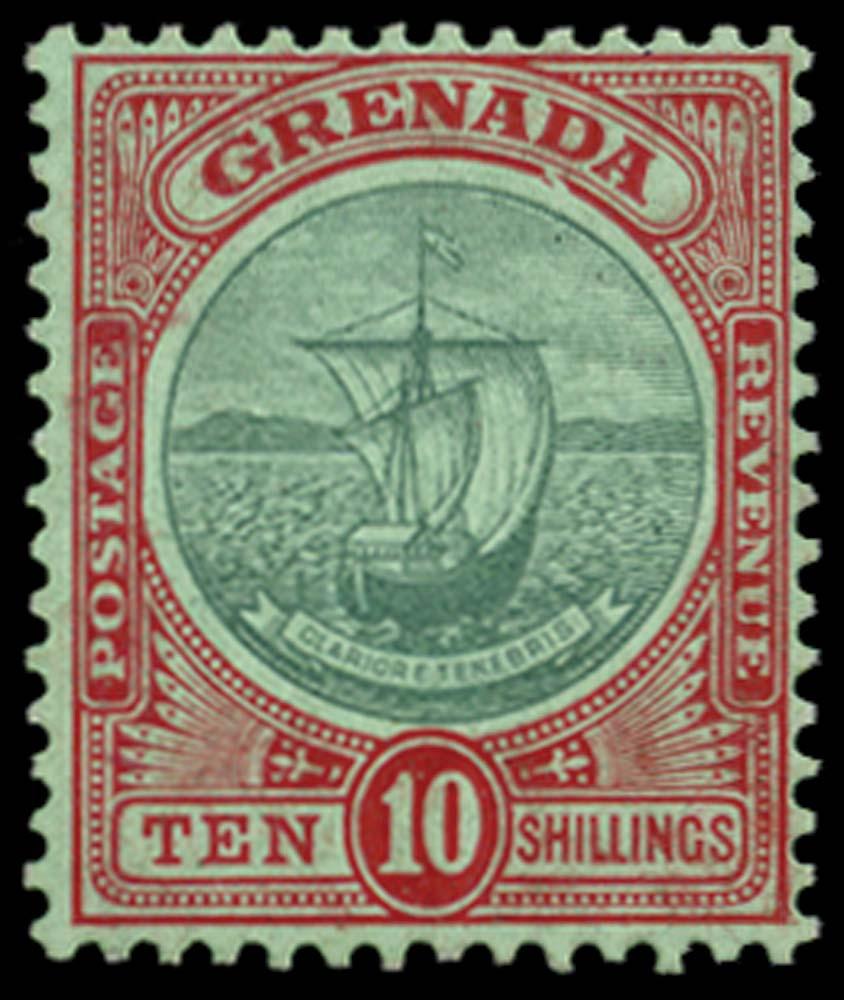 GRENADA 1908  SG83var Mint