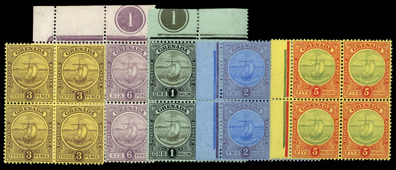 GRENADA 1908-11  SG84/8 Mint