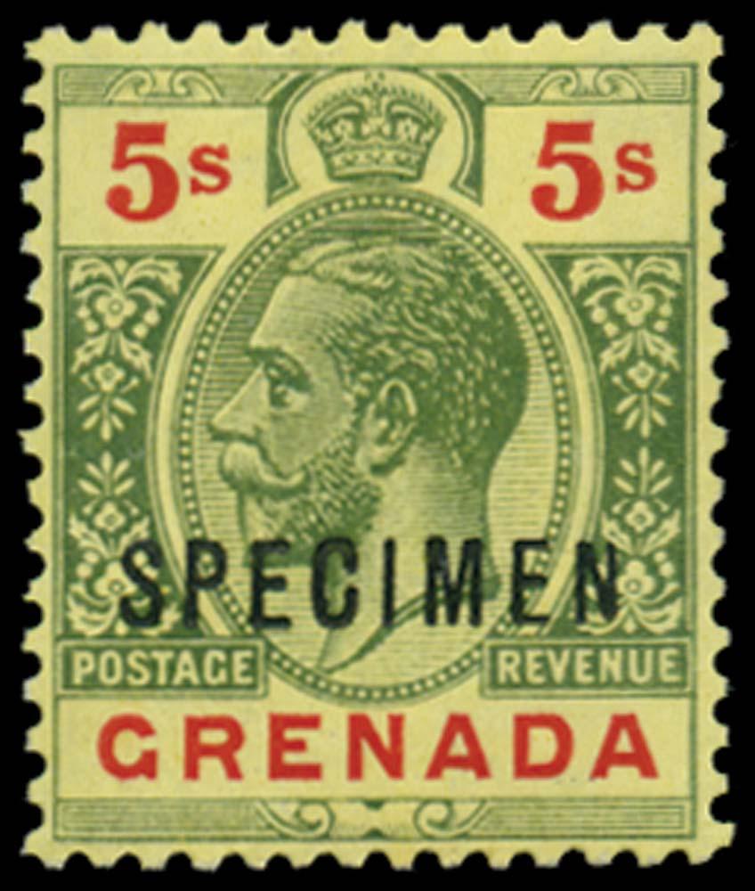 GRENADA 1913-22  SG100as Specimen