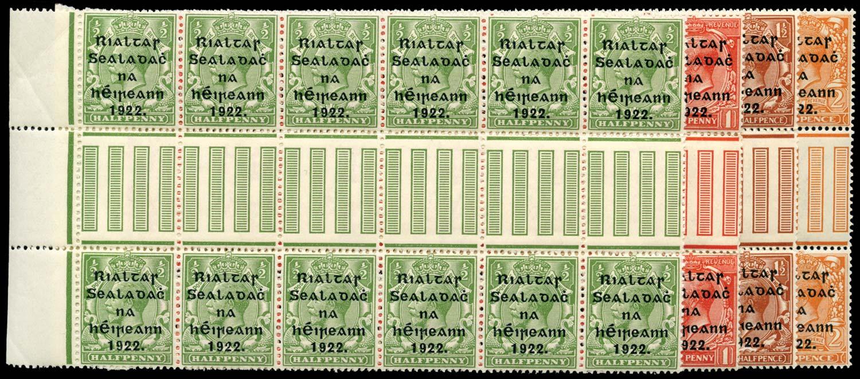 IRELAND 1922  SG47/50 Mint