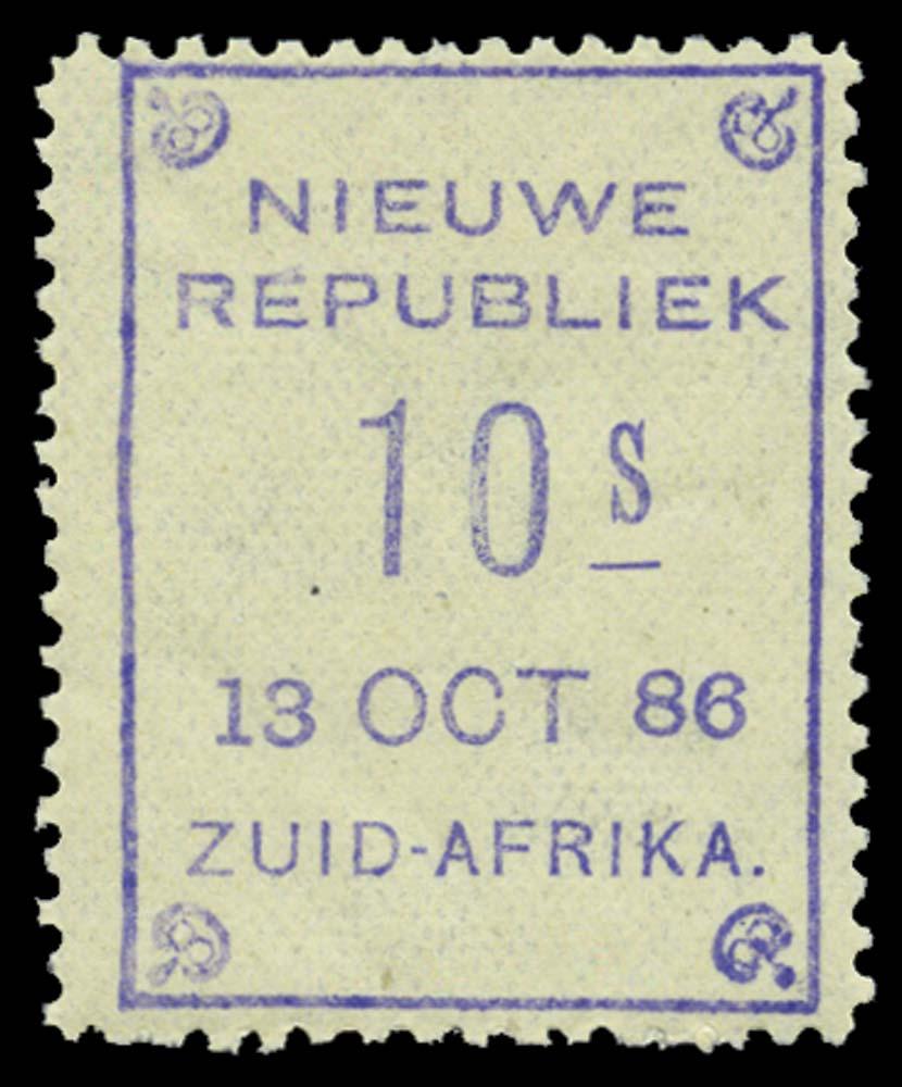NEW REPUBLIC 1886-87  SG21 Mint