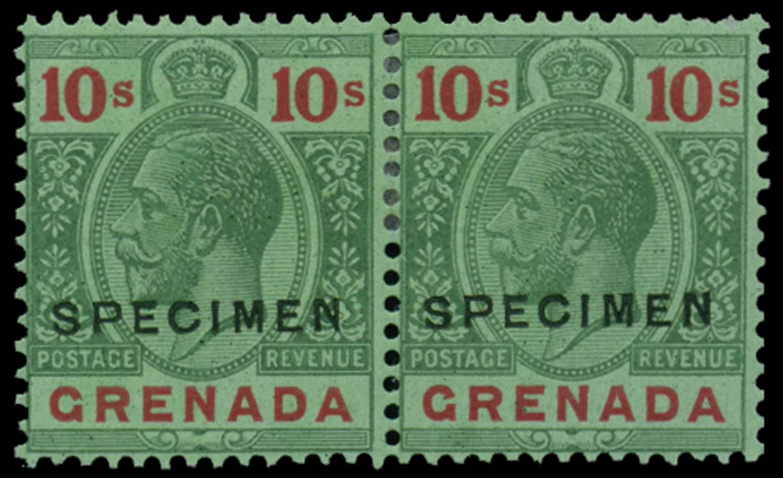 GRENADA 1921-32  SG134s Specimen