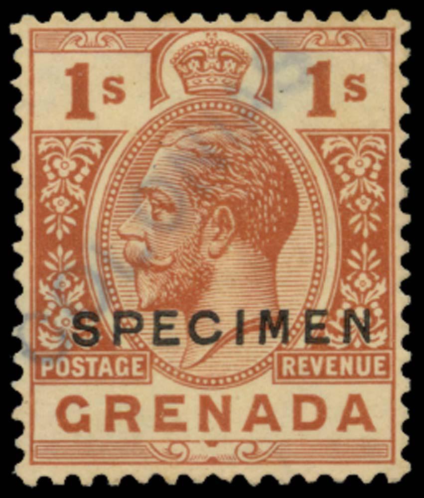 GRENADA 1921-32  SG129s Specimen