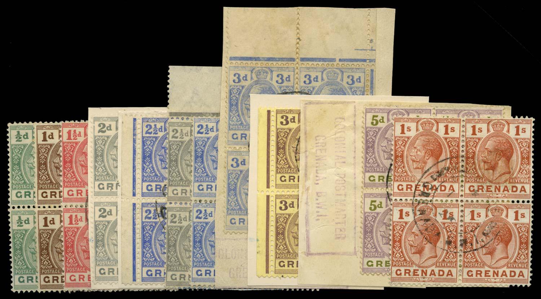GRENADA 1921-32  SG112/29 Used