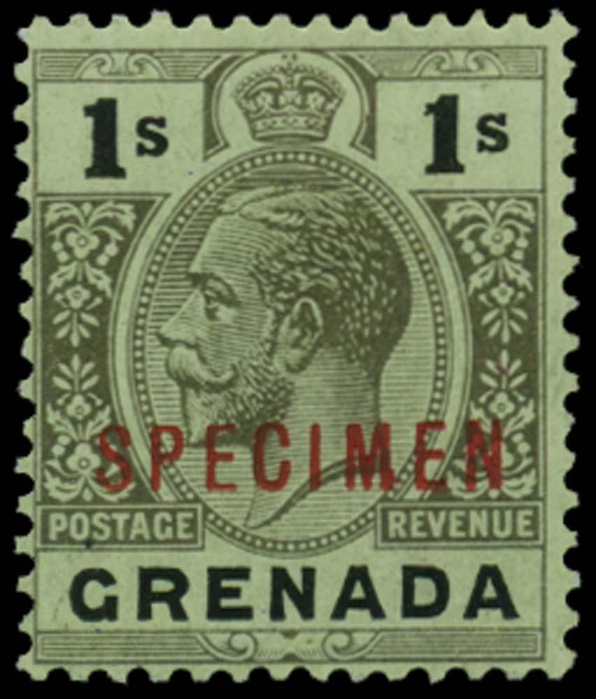 GRENADA 1913-22  SG98ds Specimen