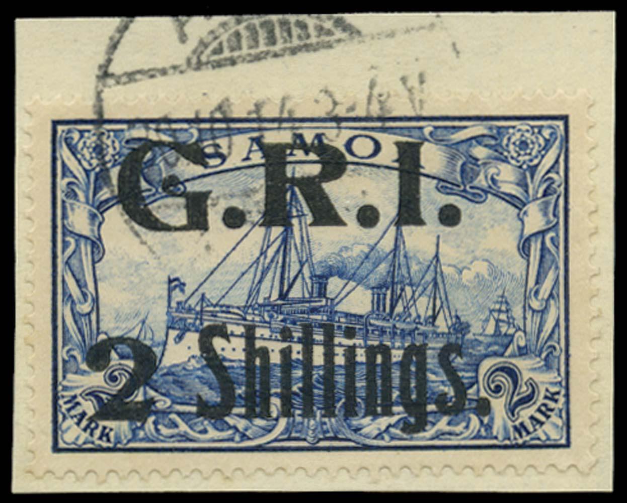 SAMOA 1914  SG112 Used