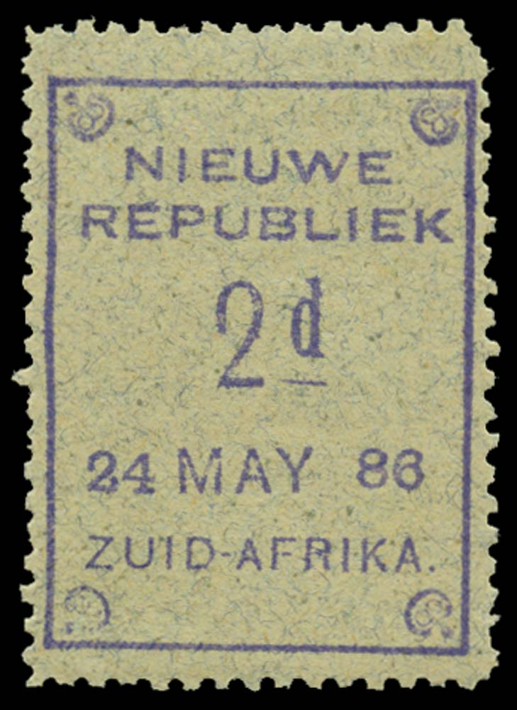 NEW REPUBLIC 1886-87  SG27 Mint