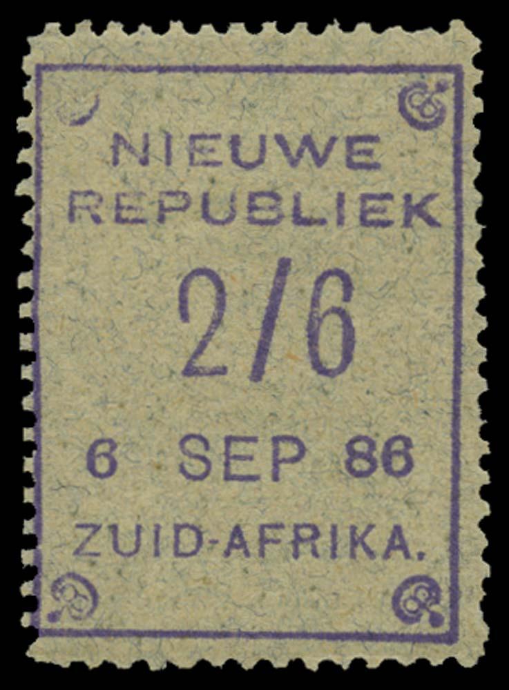 NEW REPUBLIC 1886-87  SG37 Mint