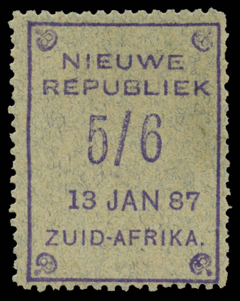 NEW REPUBLIC 1886-87  SG39 Mint
