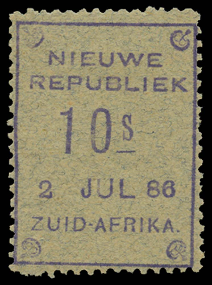 NEW REPUBLIC 1886-87  SG42 Mint