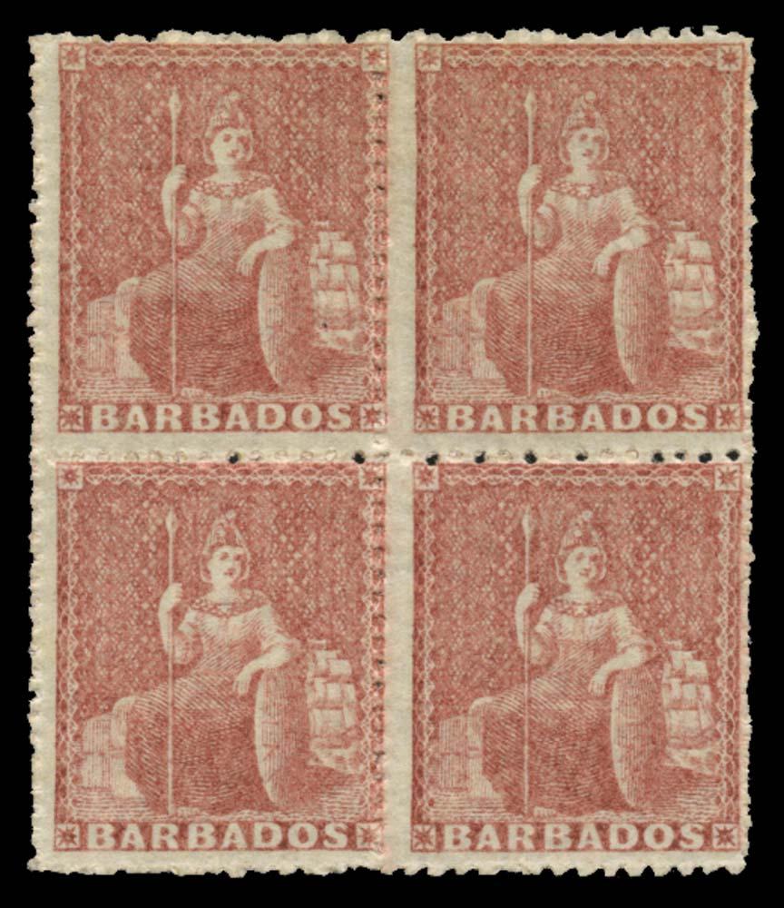 BARBADOS 1861  SG25 Mint
