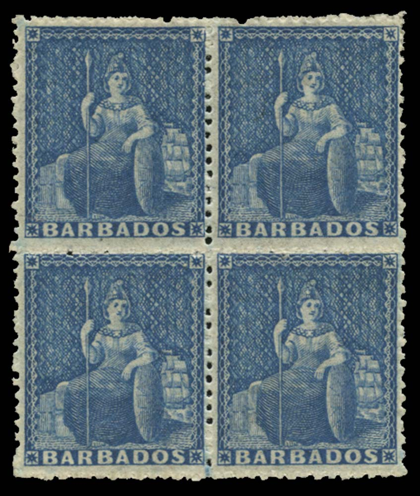 BARBADOS 1861  SG24 Mint