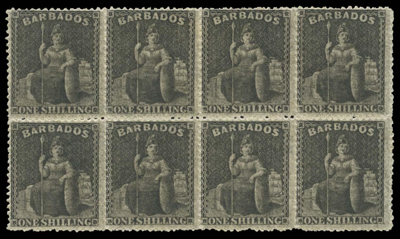BARBADOS 1861  SG34 Mint