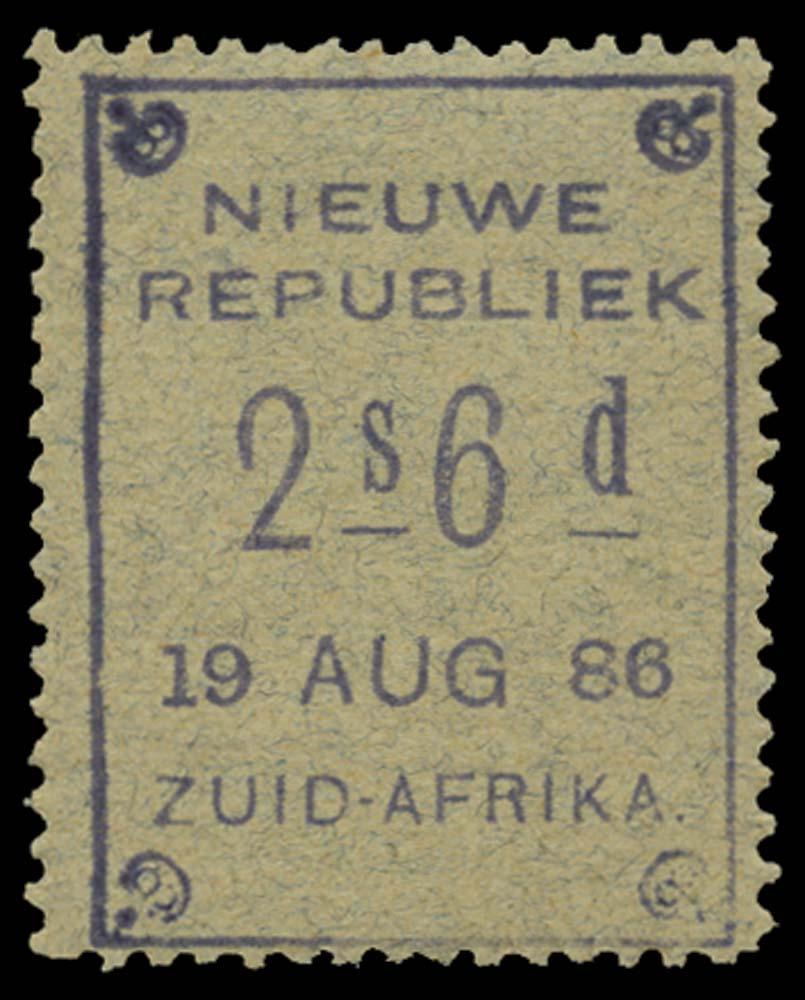 NEW REPUBLIC 1886-87  SG36 Mint