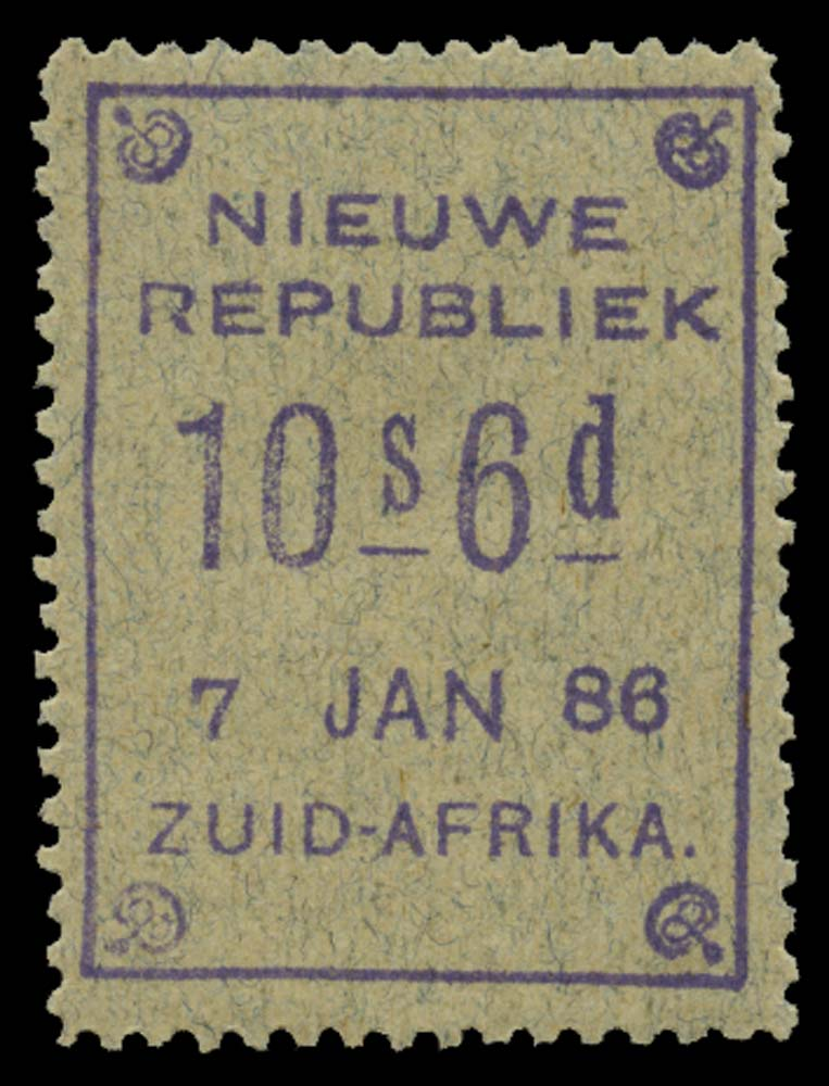 NEW REPUBLIC 1886-87  SG43 Mint