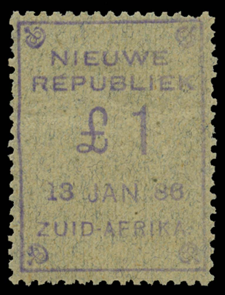 NEW REPUBLIC 1886-87  SG46 Mint