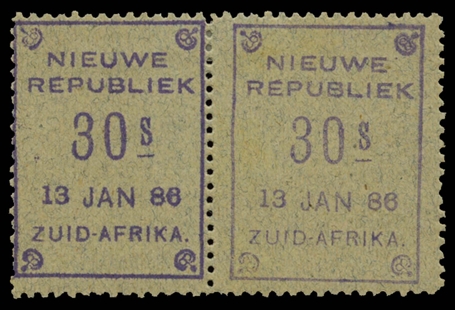 NEW REPUBLIC 1886-87  SG47 Mint