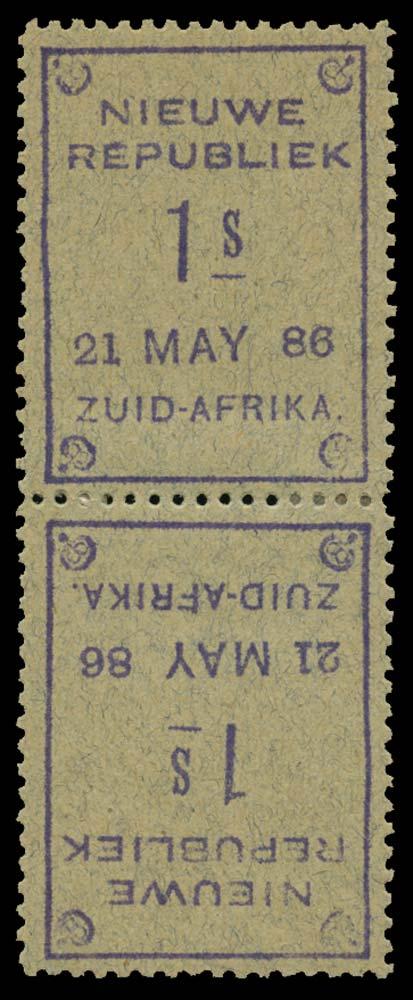 NEW REPUBLIC 1886-87  SG32a Mint
