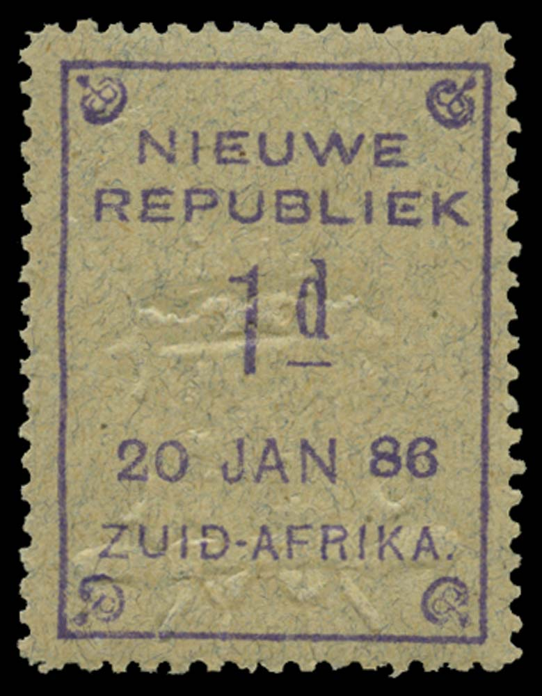 NEW REPUBLIC 1886-87  SG52 Mint