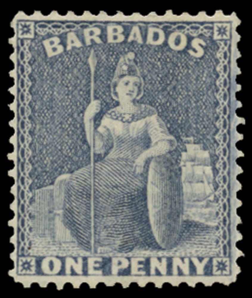BARBADOS 1875  SG74 Mint