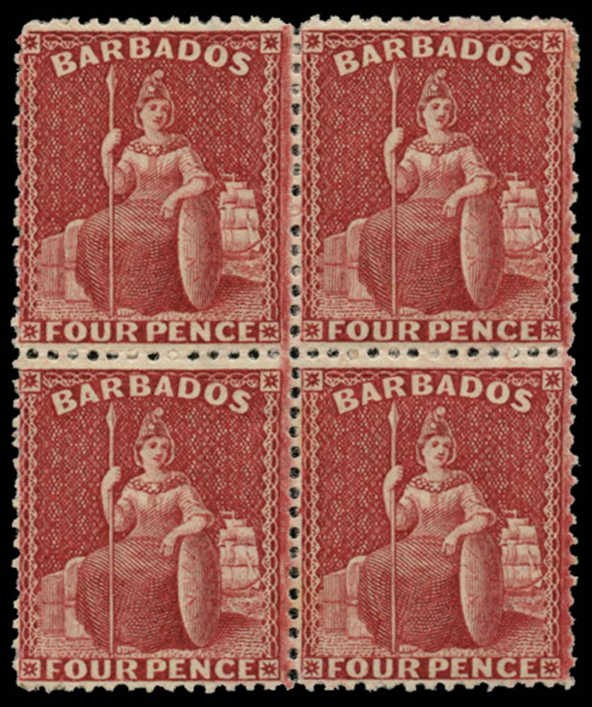 BARBADOS 1875  SG77 Mint
