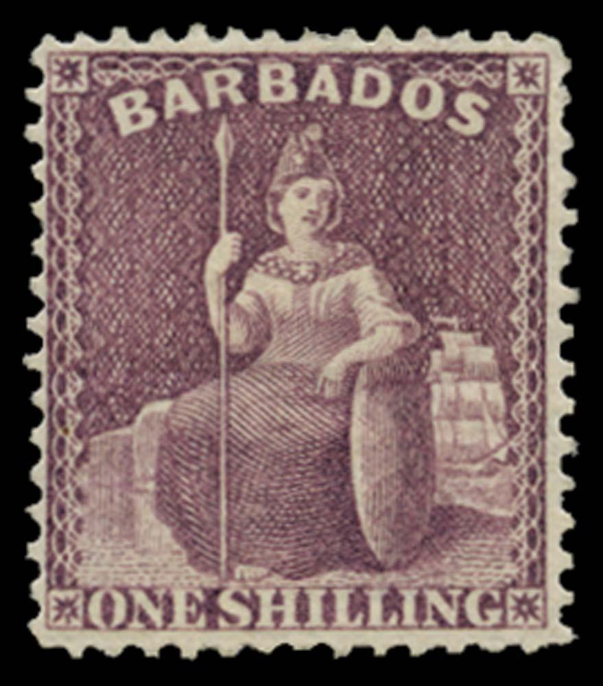 BARBADOS 1875  SG81 Mint
