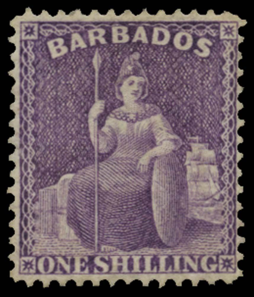 BARBADOS 1875  SG82 Mint