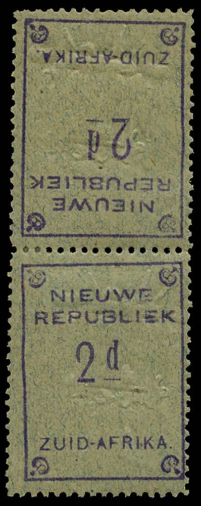NEW REPUBLIC 1887  SG73a Mint