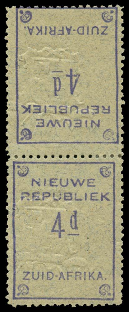 NEW REPUBLIC 1887  SG75a Mint