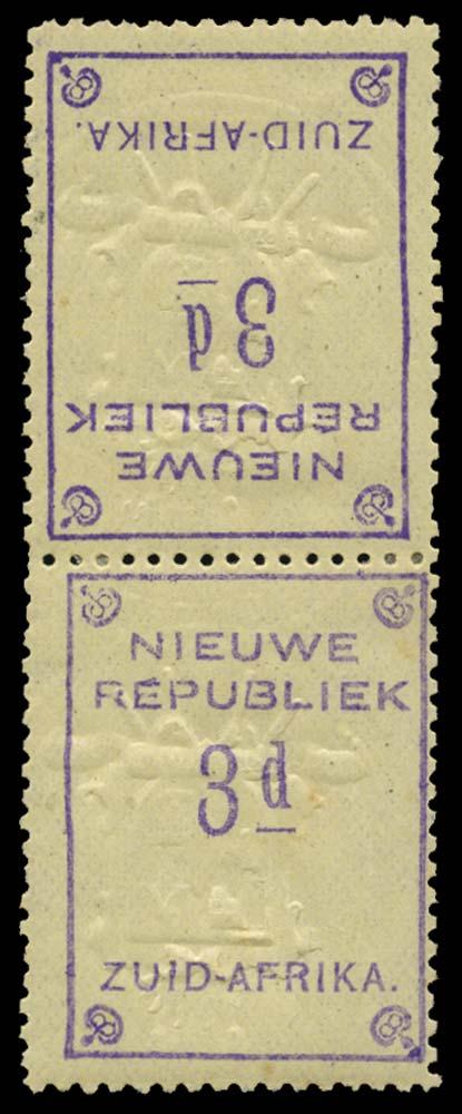 NEW REPUBLIC 1887  SG79a Mint