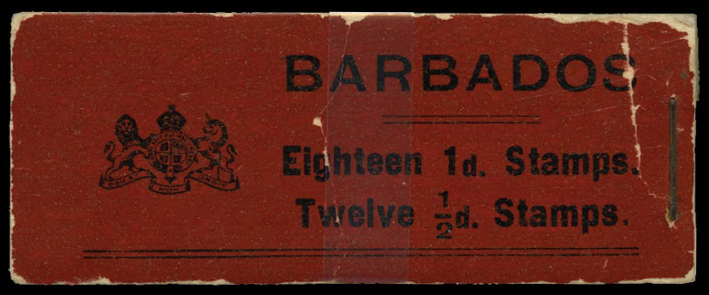 BARBADOS 1916  SGSB3 Booklet