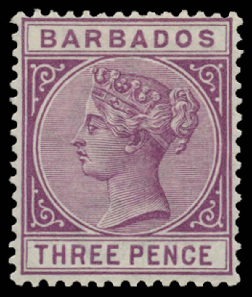 BARBADOS 1882  SG95 Mint