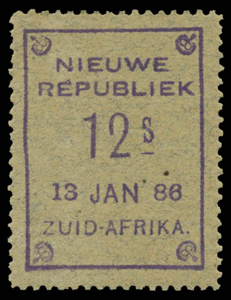 NEW REPUBLIC 1886-87  SG44 Mint