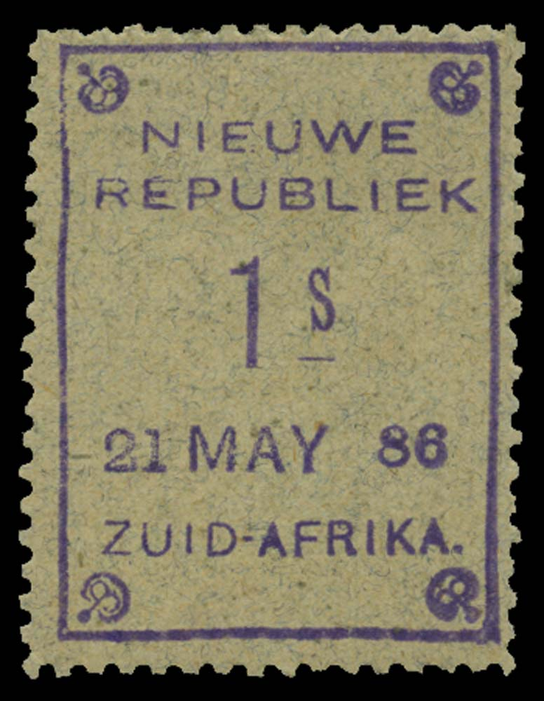 NEW REPUBLIC 1886-87  SG32 Mint